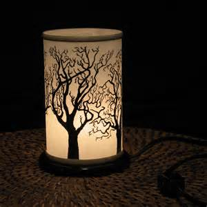 table top night light electric shoji lantern small by