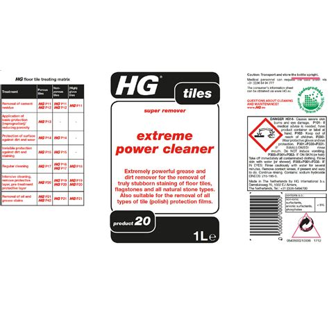 hg extreme power cleaner  home store