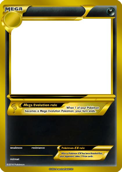 shiny templates credit card novafile xy blanks mega gold by aschefield101 on deviantart