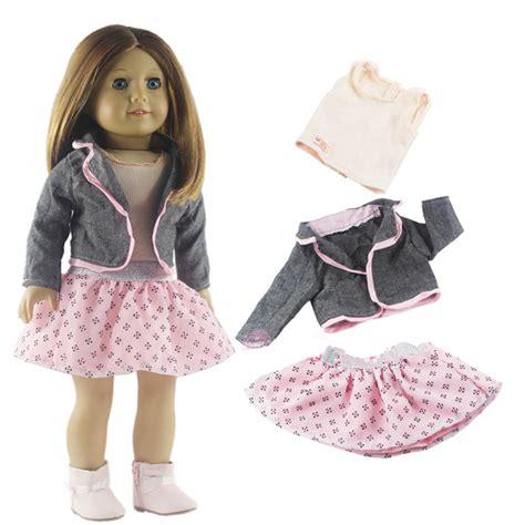 the fashion doll clothing fashion clothing set doll clothes for 18 inch dolls