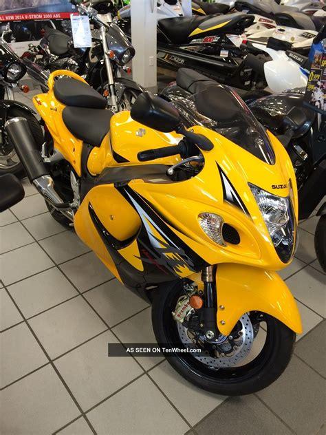 Suzuki Yellow 2013 Suzuki Hayabusa L E Yellow Gsx1300razl3
