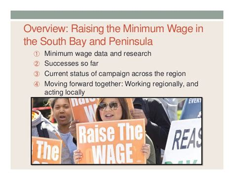 minimum wage overview raise the wage silicon valley