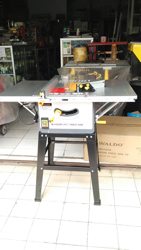 Gergaji Meja jual aldo mj10250 table saw 10 inch mesin gergaji circular