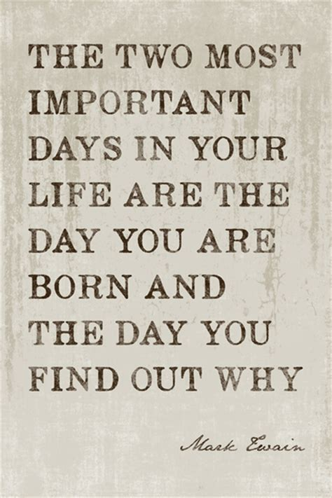 the two most important days in your quote