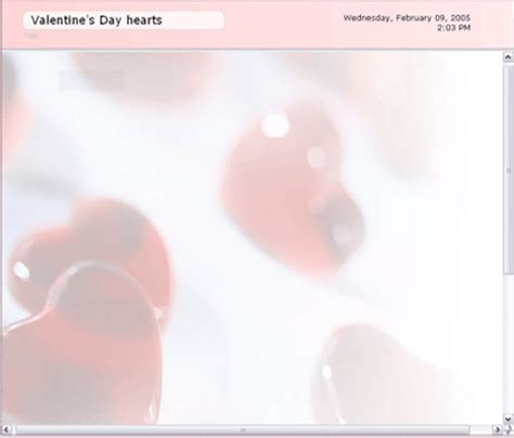 Valentine Blogger Templates