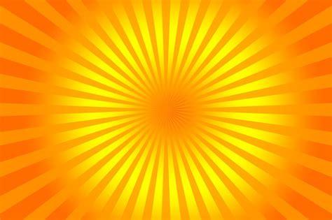 wallpaper garis orange free illustration rays sunburst yellow orange free
