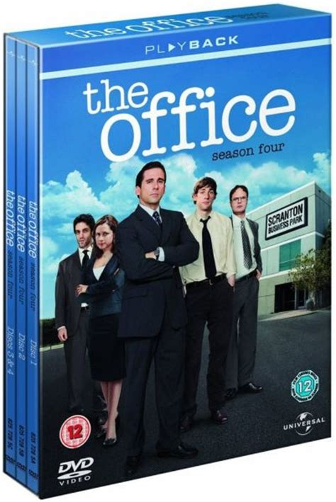 the office an american workplace season 4 dvd zavvi