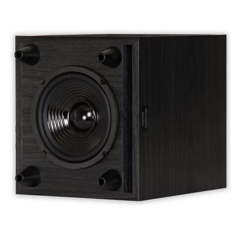 acoustic audio rwsub  home theater powered  subwoofer