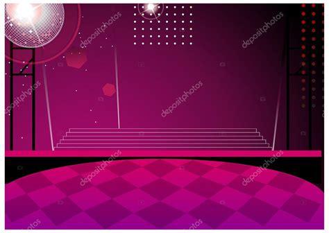 disco ball floor l disco ball and dance floor at nightclub stock vector