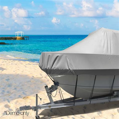 heavy duty boat cover heavy duty polyester boat cover 19ft 21ft buy boat covers