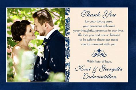 sle wedding thank you notes for gift cards 30 thank you card designs and exles