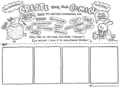 Comic Template Maker by Scbwi Comixtravaganza Mcintyre