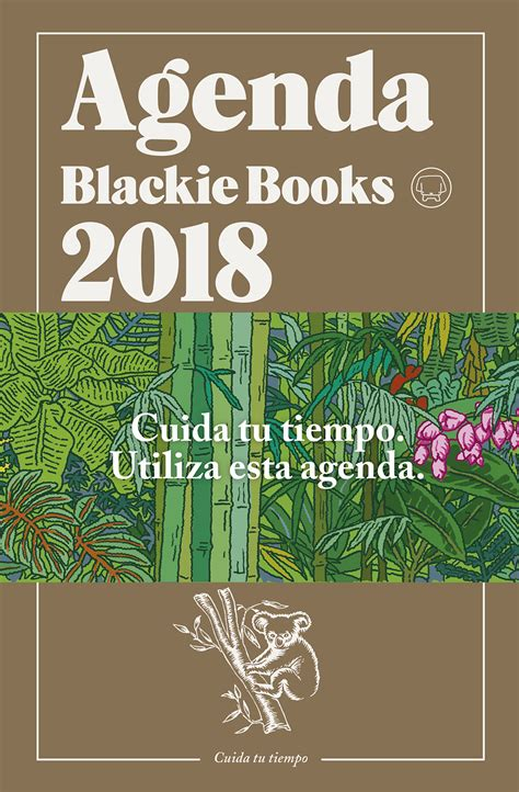 agenda blackie books 2018 blackie books