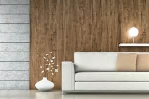 moderne wohnzimmer wandgestaltung wandgestaltung mit holz stein und beton style your castle