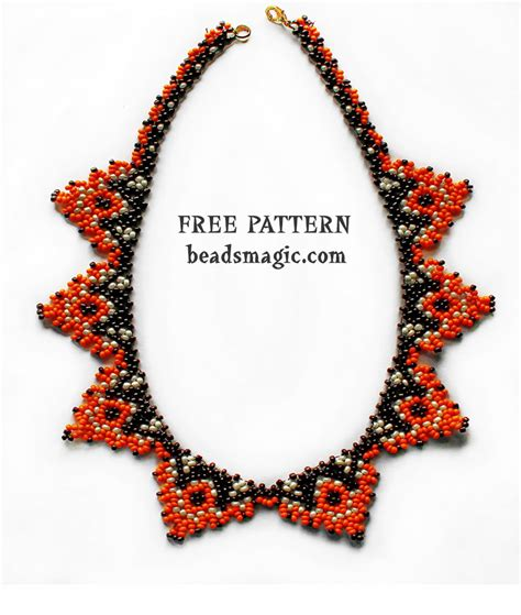 Handmade Beaded Jewelry Patterns - magic free beading patterns and everything about