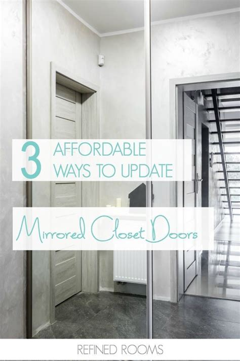 Update Mirrored Closet Doors 331 Best Diy Home Decor Images On Creative Crafts Decor Crafts And Diy