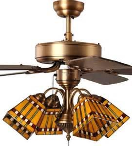 prairie style ceiling fan best 41 stained glass ceiling fan ideas on