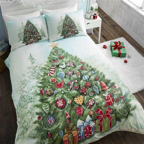 christmas tree green duvet covet set tonys textiles
