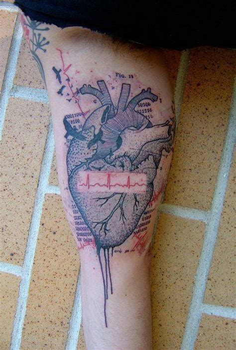 ekg tattoo meaning best 25 ekg ideas on heartbeat tattoos