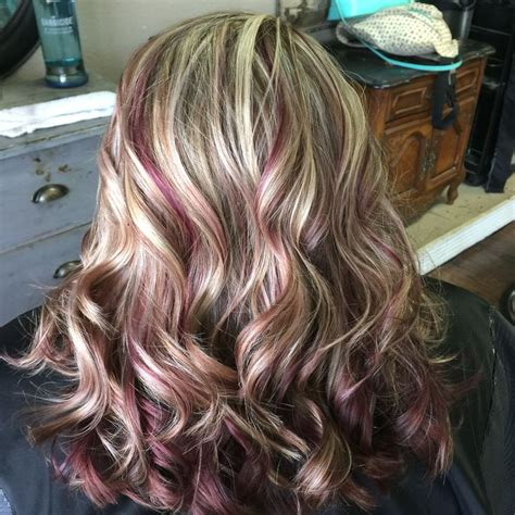 brown hair with red underneath 1000 ideas about blonde highlights underneath on pinterest highlights underneath brown hair