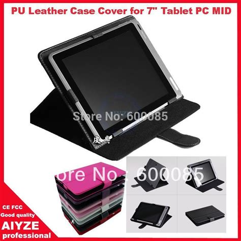Leathercase All Tablet 6 8 7 Inch pu leather cover for 7 quot tablet pc mid 7inch tablet