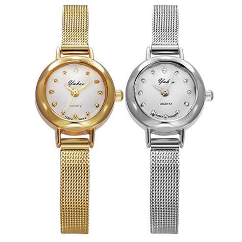 Jam Tangan Fashion Tali Pasir Gold 41 jam tangan wanita yuhao pasir fashion womens