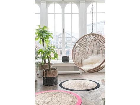 balancoire suspendue rotin hk living hanging chair living and co