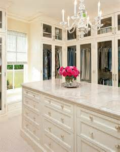 walk in closet with island house interior