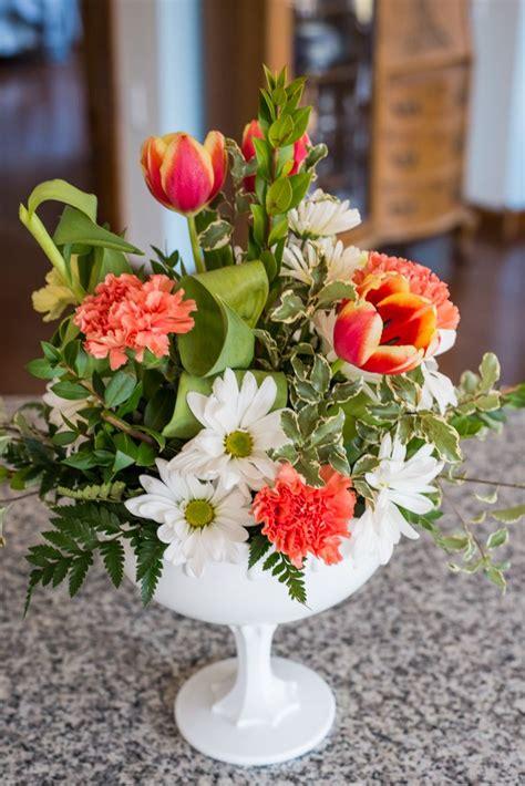 Pinterest Crafts Diy Floral Arrangement | diy pedestal vase floral arrangement floral design