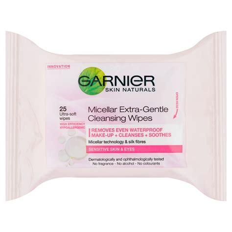 Garnier Clean Detox Wipes by Garnier Skin Naturals Micellar Gentle Cleansing