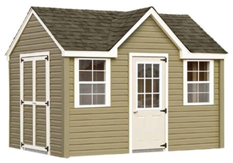 Vinyl Siding Sheds by Chalet Shed With Vinyl Siding