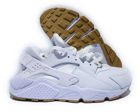 Nike Huarache Original Brande Brown White 705008111 nike air huarache run pa white gum brown mens