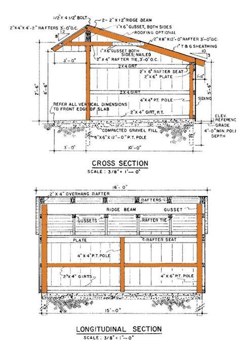 loafing shed plans pinterest