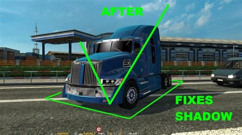 euro truck simulator 2 mod game fixes western star 5700xe 2017 for 1 25 fix ets2 euro truck