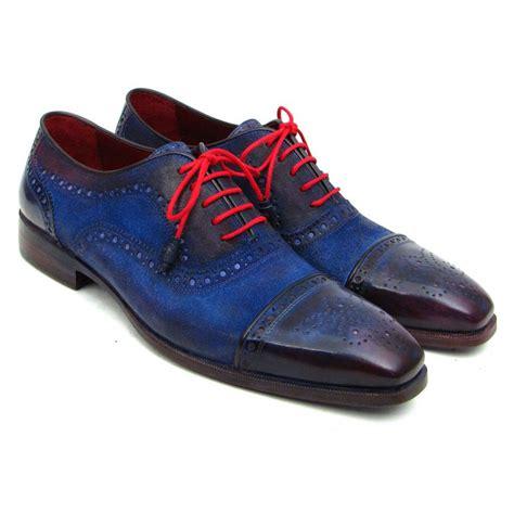 paul parkman shoes paul parkman s handmade shoes captoe suede blue