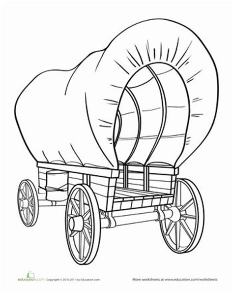 the gallery for gt covered wagon drawing