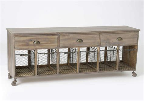 meuble tiroir panier meuble en bois paniers grillage et tiroirs