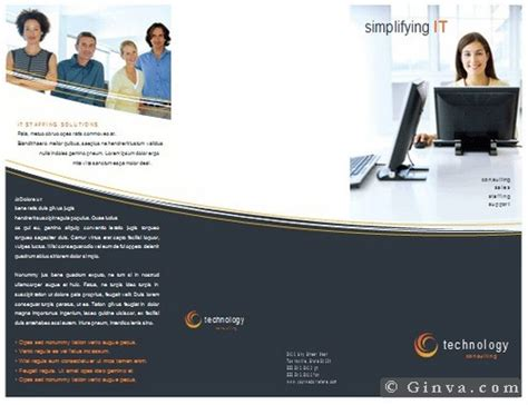 microsoft office brochure template best photos of free microsoft office tri fold templates