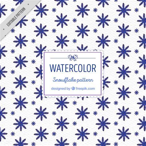 pattern snowflake ai blue snowflakes pattern vector free download