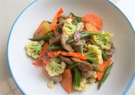 cara membuat capcay enak cara membuat capcay sayur bakso istimewa lezat resep harian