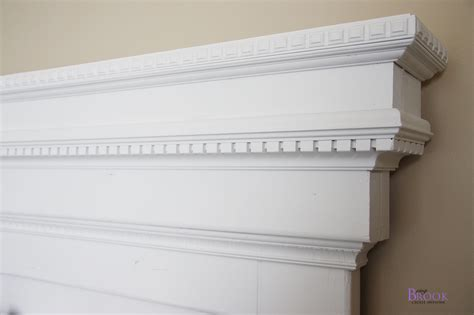 diy mantel headboard decor tips homey touch to your living with brick fireplace