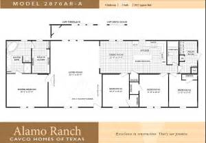 Modular Homes 4 Bedroom Floor Plans by Manufactured Home Floor Plans 4 Bedroom 2 Bath Trend