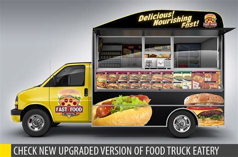 design your own food truck wrap graphicriver 3d text effect 236375