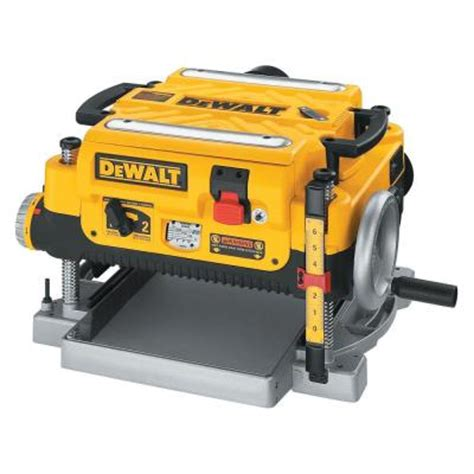 dewalt 15 13 in corded planer dw735 the home depot