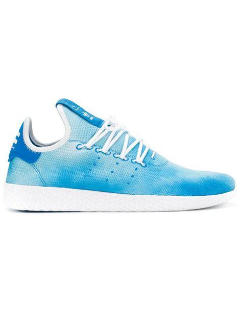 Sepatu Sneakers Adidas Originals Stan Smith Blue lyst adidas originals hu holi stan smith sneakers in blue for