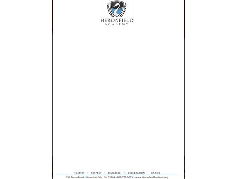 Department Of Finance Letterhead Custom Letterhead Printing Services In Portsmouth Nh