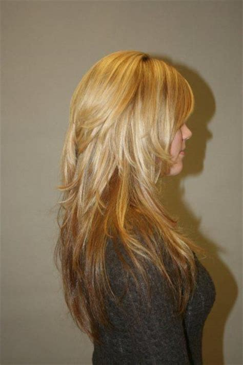 long hair short layers pictures of color cuts and up pinterest the world s catalog of ideas