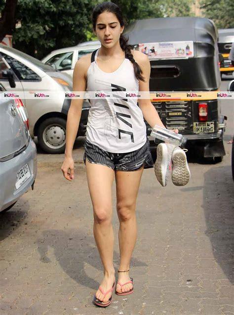 actress of kedarnath kedarnath actress sara ali khan spotted on the mumbai