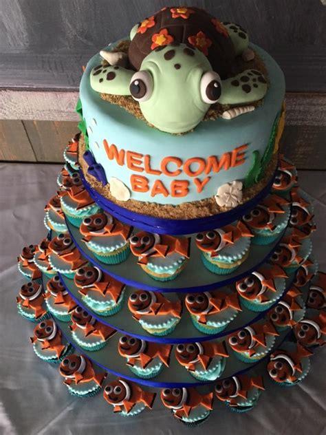 nemo baby shower cake  denise  cakes cakesdecor