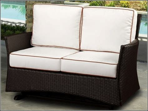 outdoor loveseat glider cushions walmart patio loveseat cushions patios home decorating